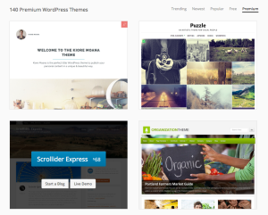 140 premium themes and more added every week