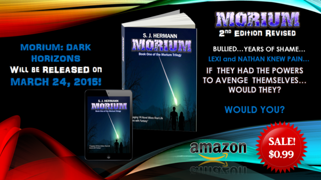 Banner for book 2 in morium trilogy