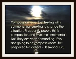 Compassion Desmond Tutu