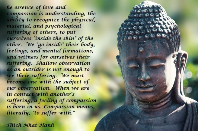 Thich Nhat Hahn Compassion Quote